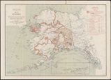 Map of Alaska : index map showing areas covered by topographic maps, February 1909.
