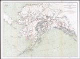 Map of Alaska : showing explorations by U.S. Geological Survey in 1898, together with principal...