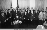 Signing of the Federal Highway Act, 1964