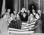 Statehood backers celebrate.