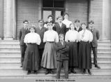 Fairbanks High School Class of 1908.