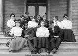 The Fairbanks High School Class of 1908.