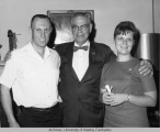 Bob Bartlett with Lt. and Mrs Terrance P. McLean