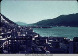 Juneau waterfront, ca. 1949-1950.