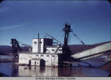 Gold dredge, Nome.