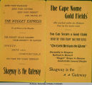 """Nugget Express Guide to the Klondike and Cape Nome Gold Fields"" part 1."