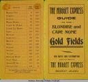 """Nugget Express Guide to the Klondike and Cape Nome Gold Fields"" part 2."