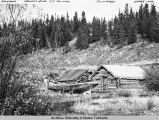 Haydon's workshop, Kluane Lake, Yukon Territory, Canada.