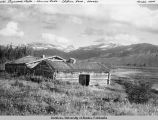 Old stagecoach stable, Kenny Lake, Chitina Road, Alaska.