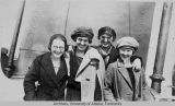 Four women on the S. S. Northwestern