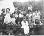 Knik Indian Chief Nikaly & family.