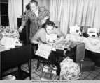 Christmas presents in July, Golovin Mission, 1948.