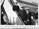 Crew of inaugural jet service to Juneau.