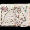 New map of part of North America from the latitude of 40 to 68 degrees. Including the late...