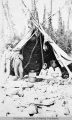 Summer Indian camp, Porcupine River