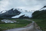Worthington Glacier from Richardson Highway. #1107.