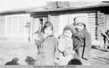 School kids, Fort Yukon, Alaska