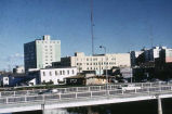 New Chena bridge & Fairbanks chamber building. #1402.