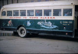 Bus in Nome.