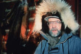 Richard Carroll, trapper on Porcupine River.