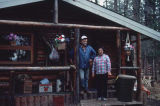 Richard and Eva Caroll on Porcupine River.
