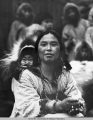 Little Diomede woman and child