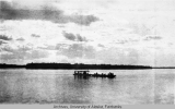 Outfit leaving Fort Yukon for Porcupine River, 1922
