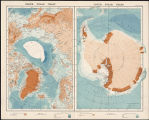 North Polar chart ; South Polar chart.
