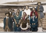 Chief Laroyen and his family