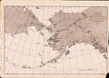 Sketch map of Alaska.