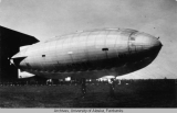 Airship Norge in Italy.