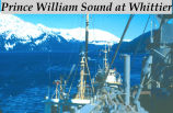 Prince William Sound at Whittier.