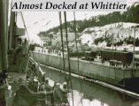 Almost docked at Whittier.