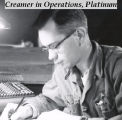 Creamer in operations, Platinum.