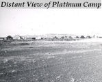 Distant view of Platinum camp.