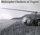 Helicopter onshore at Togiak.