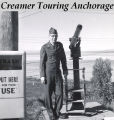 Creamer touring Anchorage.