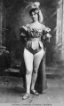 Klondike Kate wearing a leotard