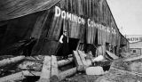 Damaged Dominion Commercial Company building.