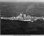 USS Alaska Official Photograph