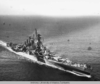 Official USN photograph of the USS Alaska