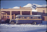 Alaska Railroad Hotel and bus.