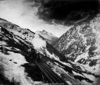 Approaching the summit - White Pass & Yukon Railroad.