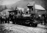 First locomotive in Alaska.