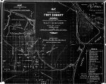Map showing military post, Fort Egbert, Alaska.