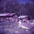Cabins at fish camp.