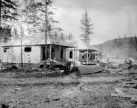 Cottages of A. E. C. Nenana, Alaska.