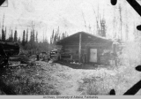 Jim Carse's cabin at his wood camp