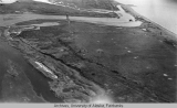 Aerial view of either Teller or Nome, 1926.