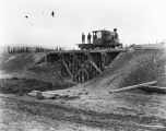 Bridge no. 1, mile 462.1, Oct. 13th, 1917, Fairbanks District.f